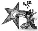 black star by r-a-ven