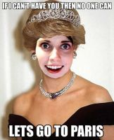 Overly Attached Diana by BoscoBurns
