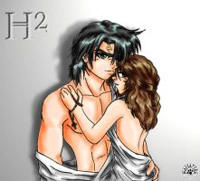 Harry and Hermione by mmassafera