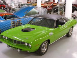 Plymouth 'cuda by miniman444