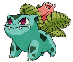 Ivysaur WWS by the19thGinny