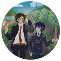 Inaba Detectives by Neskybo