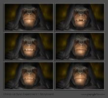 Chimp Lip Sync Animation Experiment 1 by JoePingleton