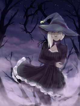 Haunted Witch by te-belle