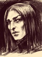 HP: Severus Snape by cogdis