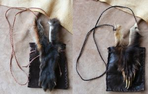 Paw and claw pouches by lupagreenwolf