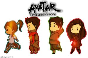 LEGGO TEAM AVATAR by m1lk11wayz