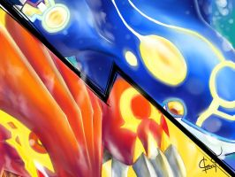 Pokemon Omega Ruby and Alpha Sapphire by Gavin-56