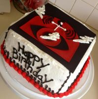 Pearl Jam Cake by Crosseyed-Cupcake