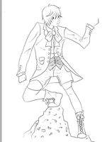 Request Progress: Alois T. and RunningFromToday by purple-panda64