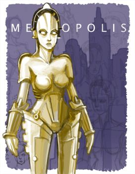 Robot Girl from Metropolis by PersonaSama