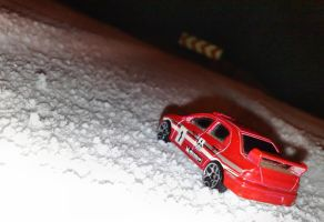 Rally in the snow by Lew-GTR