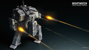 Nightwatch Class Assault Walker by Progenitor89