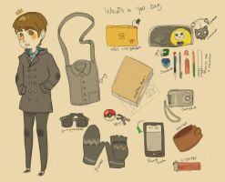 whats in  you bag by k0k3