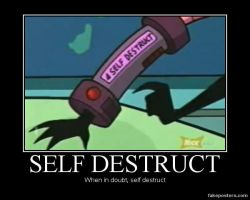 SELF DESTRUCT by TheTweedleTwins