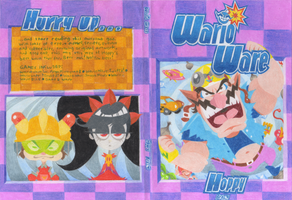 WarioWare Guide - Full Cover Sleeve by HoppyBadBunny