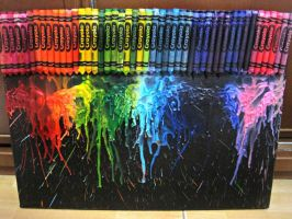Melted Crayons by Nansa123