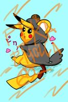 P1k4chu Wants to Fly Too by 402ShionS3
