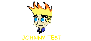 Johnny Test in Paint by crocrus