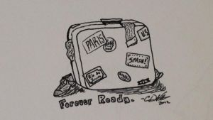 Sketchy: Many Travels Tattoo Concept by AnonymousCharles