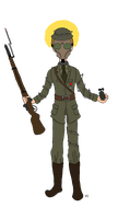The Patron Saint of Trench Warfare by TheSimpsonsFanGirl