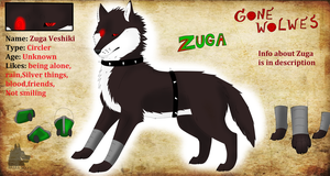 Ref: Zuga (Younger version) by NarraWolfy