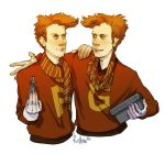 HP Weasley Twins by iago-rotten