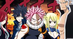 Fairy Tail 267 Manga Wallpaper by NatsuDrgonil