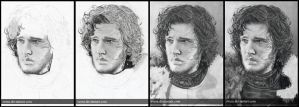 Jon Snow WIP by Svera