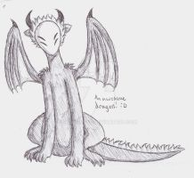 Awesome dragon is awesome :D by SkyHighFae