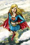 Supergirl_Up In The Air by funrama