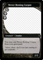 MtG: Never Resting Corpse by Overlord-J