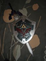 Master Sword and Hylian Shield by Twilit-Arawen