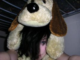 Me and dog emo pic 3 by Emmi-Heldt