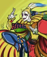 Villain Month 2014 - 020 - Kefka by AndrewDickman