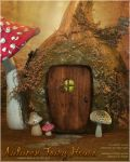 Autumn Fairy House by cosmosue