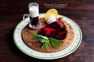Blueberry pie by MirageGourmand