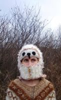 white owl hat by TinaTrineer