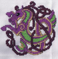 Celtic Horse Cross Stitch by susanjrobinson