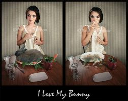 I Love My Bunny 2 by Sepirgo