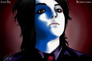MCR--Gerard Way by LeNe-weee