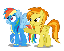 Dashie and Spitfire by Moonbrony