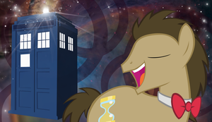 Doctor Whooves Wallpaper by OEmilyThePenguinO