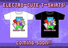 Electro-Cute T-shirts by quazo