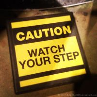 Watch Your Step by SnapShot120