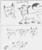 shrikewing doodles by constell8ion