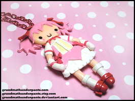 Madoka Necklace by GrandmaThunderpants
