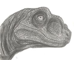 JP Velociraptor Pencil by Rufinator