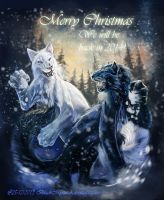 Yves and Sasha wish you merry christmas by BlackMysticA