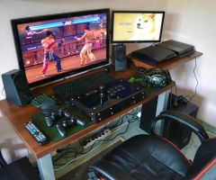 Gaming setup 78.5 by Tekkensennin